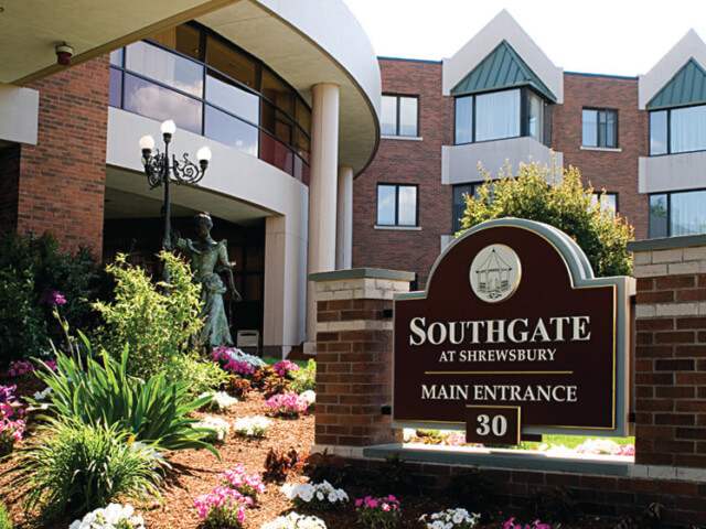 Southgate at Shrewsbury Main Entrance